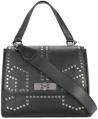 387c5ededa Black Studded Tote Bag - ShopStyle