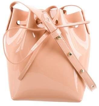 Mansur Gavriel Patent Mini Bucket Bag