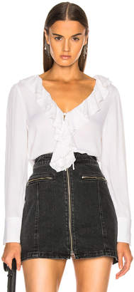 Frame Ruffle Up Top
