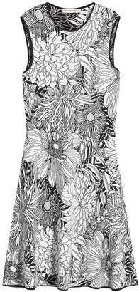 Mary Katrantzou Printed Jacquard Dress