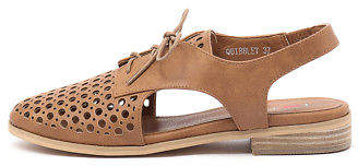 I Love Billy New Quibblet Tan Womens Shoes Casual Shoes Flat