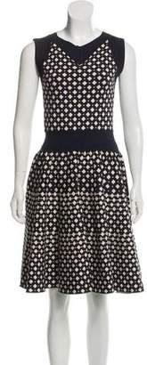 Antonio Berardi Jacquard Knit Dress