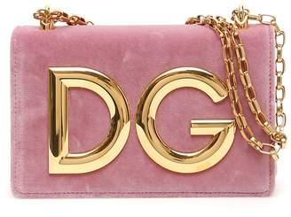 Dolce & Gabbana Velvet Clutch