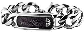 Police Men Stainless Steel Charm Bracelet - PJ25696BSS.01-L