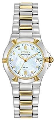 Citizen Women's Eco-Drive Riva Two-Tone Watch #EW1534-57D