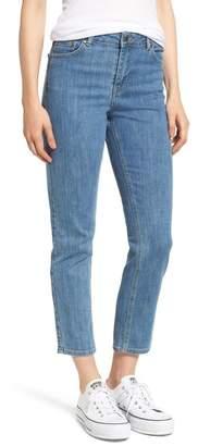 Denim & Supply Ralph Lauren Dr. Denim Supply Co Edie High Waist Crop Jeans (Void Blue)