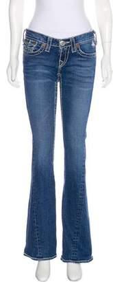 True Religion Low-Rise Bootcut Jeans