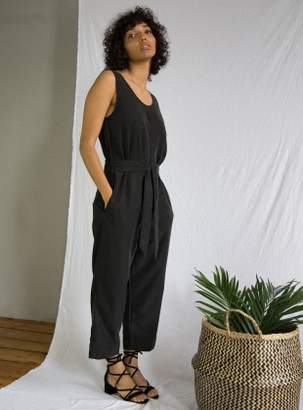 Beaumont Organic MARGARET Modal Jumpsuit in Black - Last one