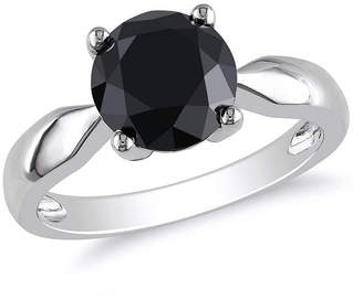 Black Diamond MODERN BRIDE Womens 3 CT. T.W. Genuine 10K Gold Solitaire Engagement Ring