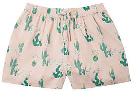 John Lewis Girls' Cactus Print Shorts, Pink