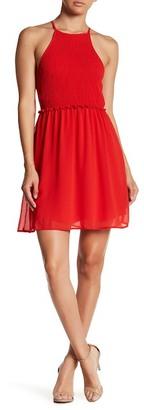 Sequin Hearts Smocked Mini Dress (Juniors) $46 thestylecure.com