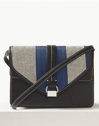 Marks and Spencer Contrast Cross Body Bag