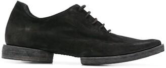 UMA WANG pointed lace-up shoes