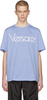Versace Blue Vintage Logo T-Shirt