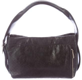 Yohji Yamamoto Perforated Shoulder Bag $290 thestylecure.com