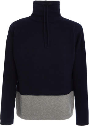 Ralph Lauren Two-Tone Wool and Cashmere-Blend Sweater