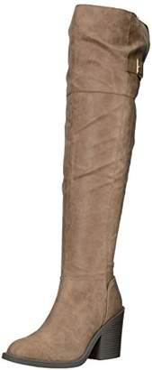 Qupid Women's MARCEL-09X Over The Over The Knee Boot