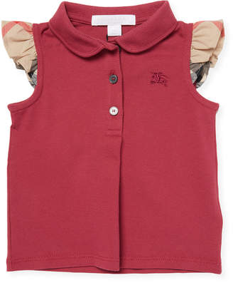 Burberry Flutter Sleeve Polo
