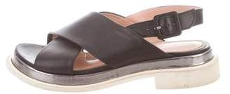 Robert Clergerie Caliente Crossover Sandals