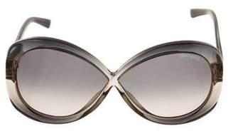 ae9ca7ec1686 Tom Ford Gray Women s Sunglasses - ShopStyle