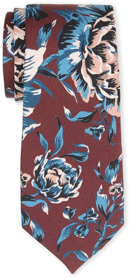 Burberry Silk Floral Tie