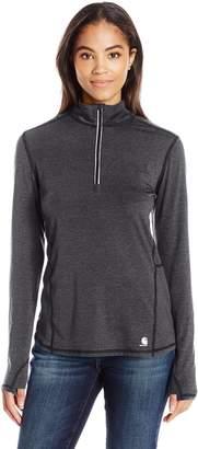 Carhartt Women's Force Ferndale Quarter Zip Shirt