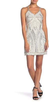 Raga Luminous Nights Sequined V-Neck Dress
