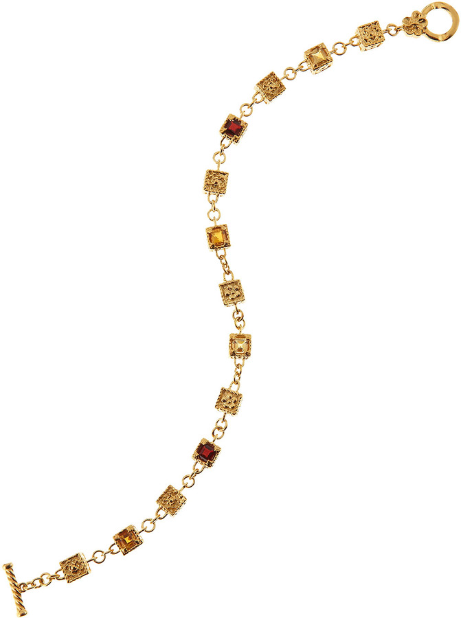 Delatori Golden Box-Link Bracelet