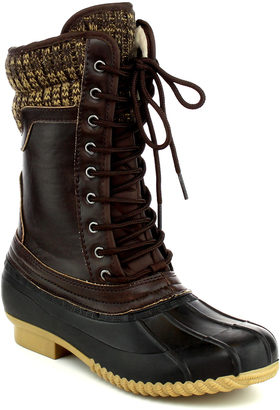 Brown Hunter Boot $54.99 thestylecure.com