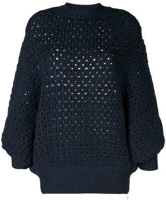 Stefano Mortari eyelet knit sweater