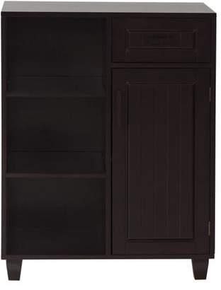 Elegant Home Fashions Dolce Floor Cabinet, Dark Espresso