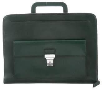 Saint Laurent Soft Leather Briefcase