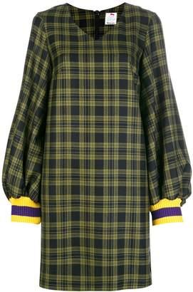 DAY Birger et Mikkelsen Ultràchic tartan knitted shift dress