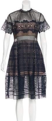 Self-Portrait Lace Midi Dress w/ Tags