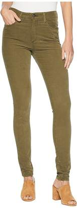 AG Adriano Goldschmied Farrah Skinny in Sulfur Dried Agave Women's Jeans