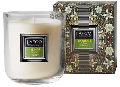 LAFCO New York Scented Candle - Gardenia & Lime