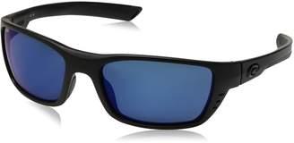 Costa del Mar Men's Whitetip Polarized Iridium Rectangular Sunglasses