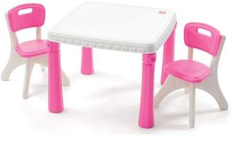 Step2 LifeStyle Kids Table and 2 Chairs Set, Multiple Colors