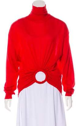 Celine Turtleneck Cashmere Sweater