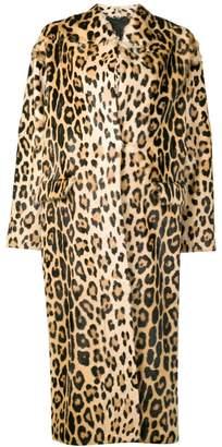 Liska Notso long fur coat