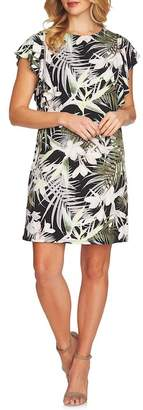 Cynthia Steffe CeCe by Soft Palms Flutter Sleeve Dress