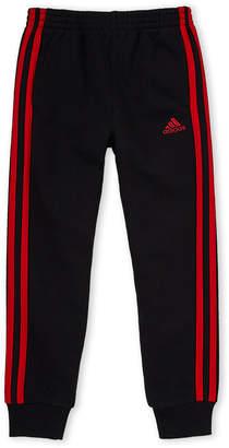 adidas Boys 4-7) Fleece Stripe Sweatpants