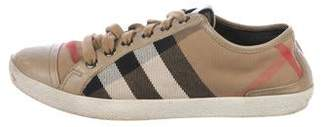 Burberry Nova Check Sneakers