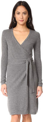 Diane von Furstenberg New Linda Cashmere Wrap Dress $398 thestylecure.com
