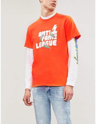 RYAN HAWAII Anti-Fame League cotton T-shirt