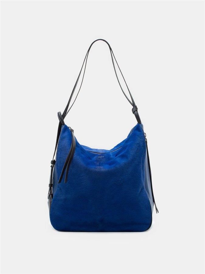 DKNYHaircalf And Leather Hobo Convertible Bag