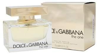 Dolce & Gabbana The One By For Women. Eau De Parfum Spray 2.5 Oz /75 Ml.