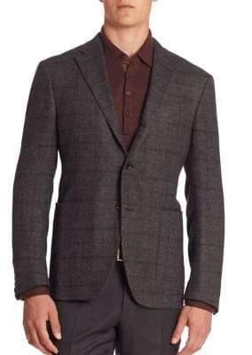 Ermenegildo Zegna Slim-Fit Tweed Sportcoat