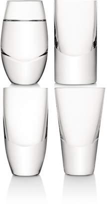 LSA International Lulu Vodka Glass, Set of 4