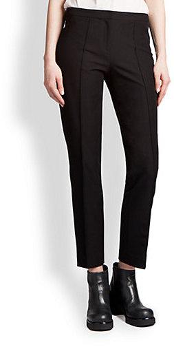 Jil Sander Navy Slim Stretch Pants